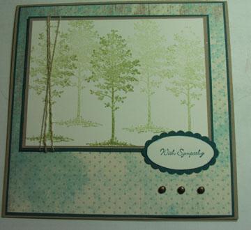 WCDM 09 Sympathy card