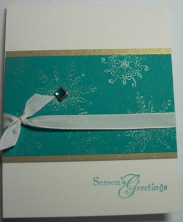 Xmas SAS 10-09 snowflakes gold