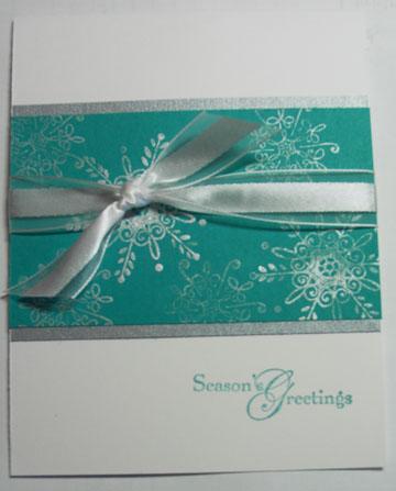 Xmas SAS 10-09 Snowflakes silver