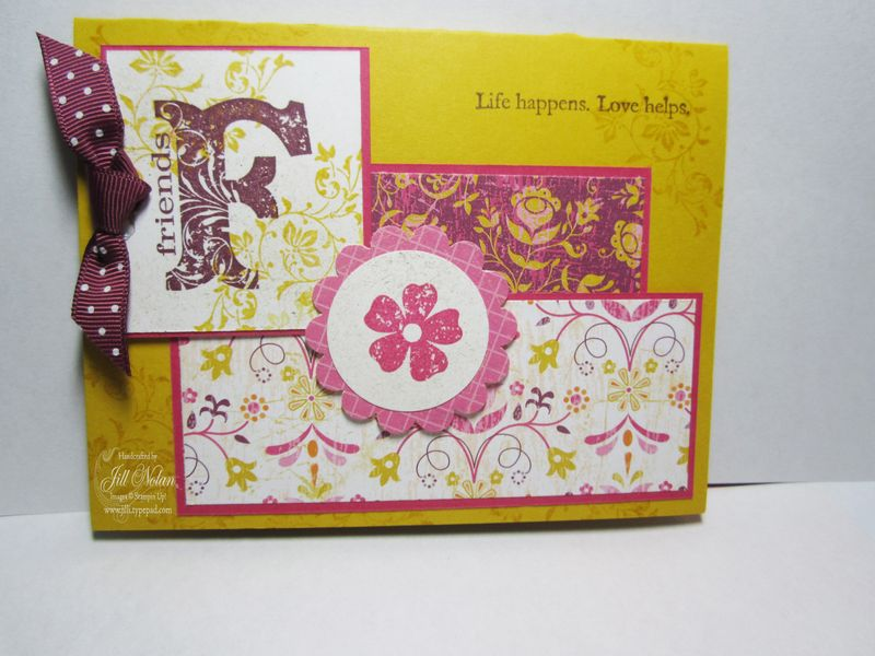 Jff friends card