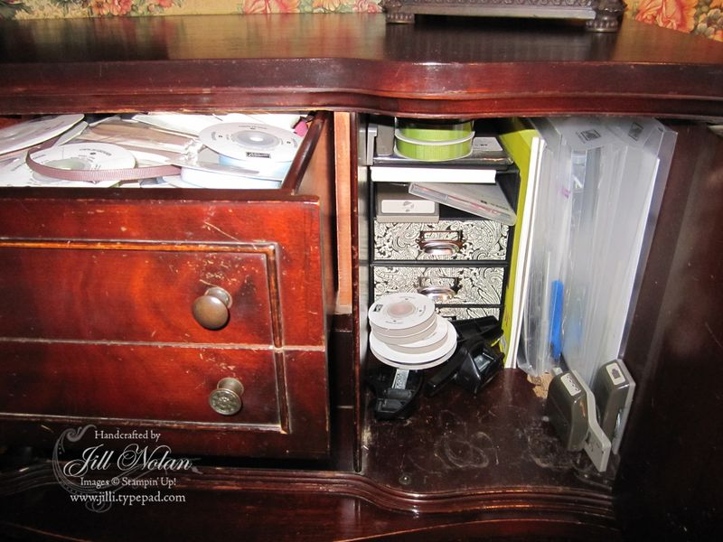 Wm chest ribbon marker drawers