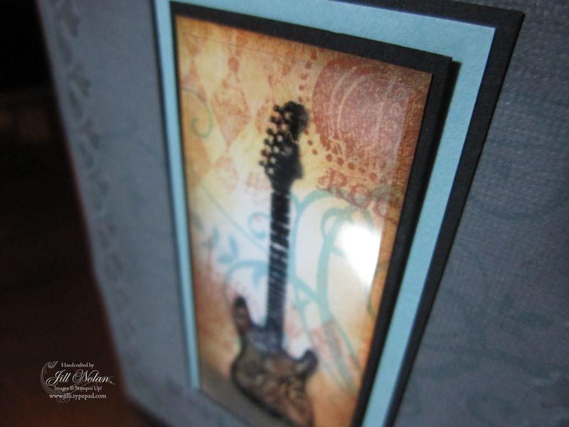 Guitar top veiw