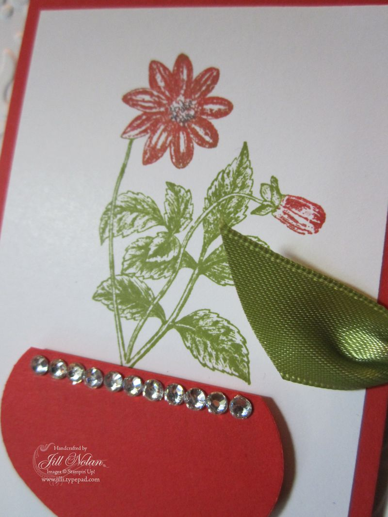 Vase red close up