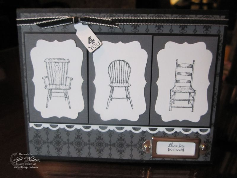 Vintage chair front
