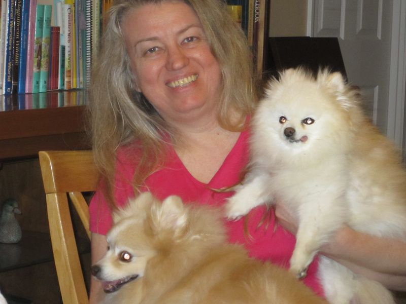Diane and her doglets