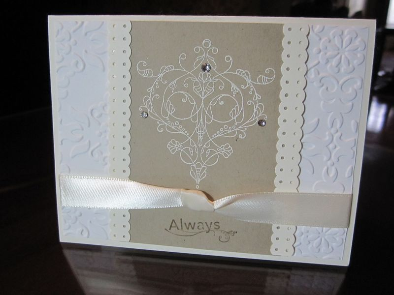 Stampin with janice white wedding