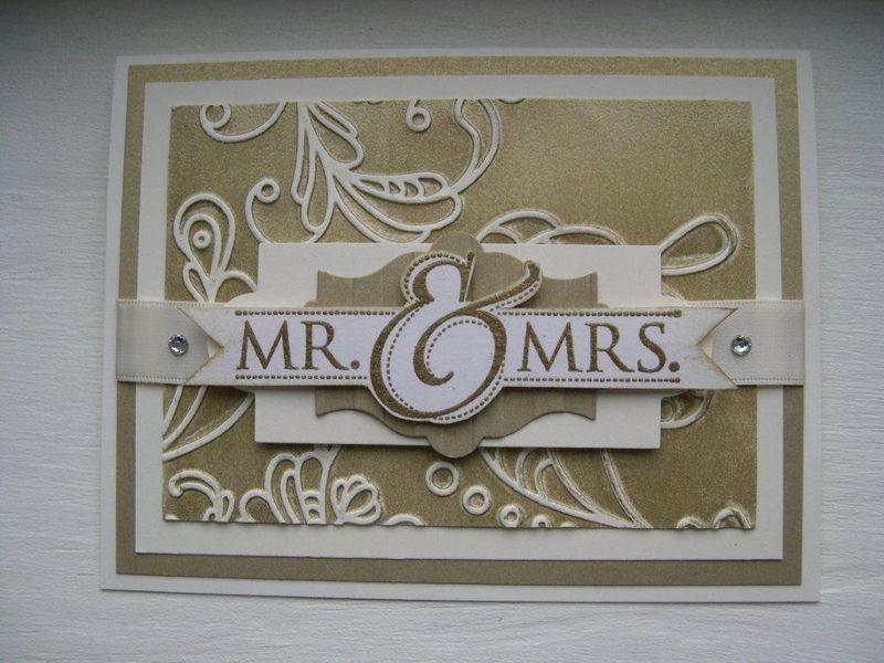 Jennifer's mr and mrs card